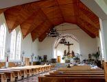 Kościół w Ustroniu Morskim - wnętrze