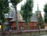 Radocza, gm. Tomice, Kościół Przemienienia Pańskiego; fot.01