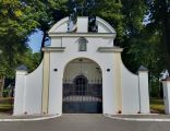 Suchowola, ogrodzenie z bramą, 1920-1930