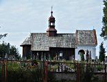 Kościół cmentarny p.w. św. Barbary w Solcu nad Wisłą od strony północnej.