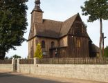 Drewniany kościół parafialny pw. św. Barbary z 2. poł. XVIII w