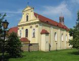 Złotoryja, kościół św. Jadwigi, widok od pd-zach.