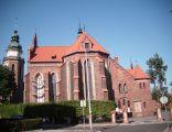 Kościół parafialny w Sycowie -widok od strony ołtarza