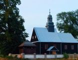 56)77 kościół par. p.w. św. Stanisława, drewn., 1796 wraz z dzwonnicą Modzerowo gm. izbica Kujawska HWsnajper