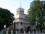 Braniewo - kościół ewangelicki ob. rzym.-kat. św. Antoniego