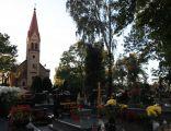 Kosciol parafialny pw Sw Elzbiety oraz cmentarz koscielny Orlowo (Gmina Inowroclaw) 03 iwona