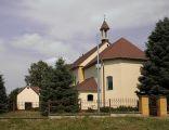 Łagów.Kościół