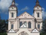 Wysokie Mazowieckie - Fasada kościoła pw. św. Jana Chrzciciela