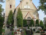Kamieniec, kościół Narodzenia św. Jana Chrzciciela, widok od zach.