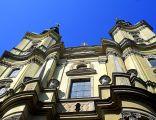 Legnica, fasada kościoła pw. Świętego Jana Chrzciciela -Aw58- 24.03.2012 r.