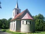 Kościół św. Jana Chrzciciela w Miedziance - tył