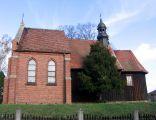 drewniany kościół p.w. św. Jana Chrzciciela z połowy XVIII w. Murzynowo Kościelne, Dominowo