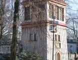Bell tower of Saint Joseph church in Łódź, 2012-12-28