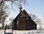 Drewniany kościół fil. pw. św. Marii Magdaleny z 1755 r.