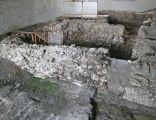 Wiślica kościół romański fundamenty miejsca pochówku