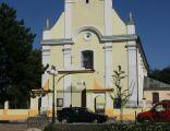 ychlin, kościół par. pw. śś. Piotra i Pawła 02; Kot