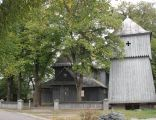 Strzelce Wielkie. Kościół p.w. św. Sebastiana , dzwonnica1