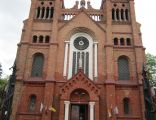 Dąbrowa Wielka (województwo podlaskie) - fasada kościoła