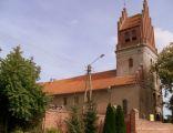 Bysławek - kościół klasztorny benedyktynek, obecnie parafialny pw. św. Wawrzyńca