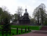 Dawny kościół parafialny położony na przeciwko kościoła MB MIłosierdzia