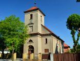 Pobiedziska, ul. W. Jagielly 23, kosciol ewangelicki obecnie rzymsko-katolicki pw. Sw. Ducha z I poł XIX w, 2183A, (3)