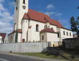 Gliwice, kościół pw. Wniebowzięcia Matki Boskiej, widok od pd.
