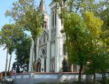 Kościół Grocholice - wejście główne (Bełchatów)