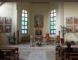 Kościół w Koszarawie Bystrej - wnętrze