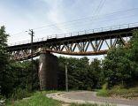 Most kolejowy nad Słupiną