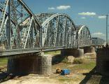 Tczew, oblouky železničního mostu