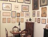 Krośniewice, gabinet kolekcjonera w muzeum