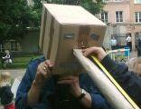 Mierzenie nosa Chmurzyńskiego