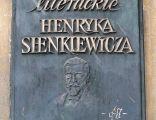 Sienkiewicz Museum Poznan plq