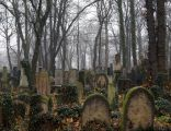 New Jewish Cemetery, 55 Miodowa street, Kazimierz, Krakow, Poland