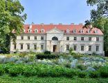 Przelewice- pałac