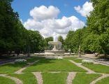 Warszawa-Ogród Saski fontanna