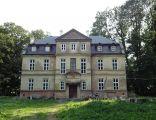 Pałac w Siedliskach (gm. Szczekociny) od strony frontowej