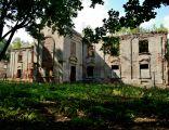 Łaszczów - ruiny pałacu Szeptyckich (02)