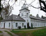 Zespół zamku Radziwiłłów (XVIIw.,XIXw.) (skrzydło pałacu z wieżą 1622r., 1922r.) (fot.1) - Biała Podlaska ul. Warszawska woj. lubelskie ArPiCh A-134