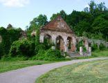 Poręba Żegoty. Pałac Szembeków. Ruiny