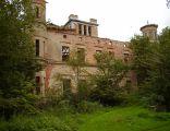 Ruiny pałacu w Lubiechowie