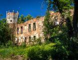 Marszowice ruina palacu