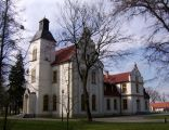 Dwór w stylu eklektycznym we wsi Przysiek (Clerk)