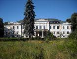 Pałac w Samostrzelu, elewacja południowa.