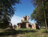 Zawieprzyce, ruiny pałacu