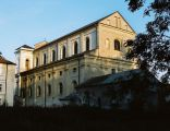 Pułtusk, kościół pw. śś. Piotra i Pawła, widok od pn-zach.