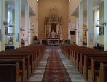 Kościół zbawiciela w międzyrzecu wnętrze