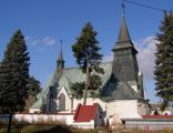 Krosno-Polanka. Kościół par.p.w.NMP Królowej Polski. 1927-28 A-131 z 03.02.1989