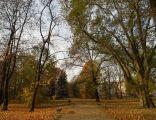 Park Kolejowy w Raciborzu - jesień