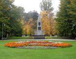 Katowice-Park Kosciuszki pomnik